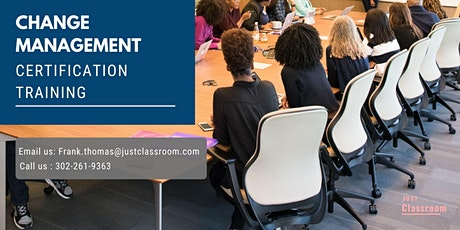 Change Management Certification Training in Moncton, NB tickets