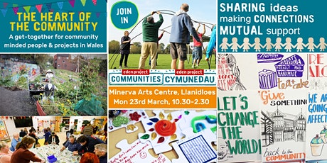 Bringing together community minded people and projects in Wales tickets