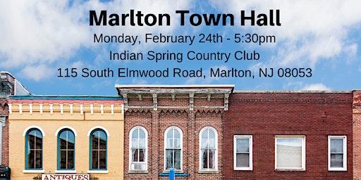 Congressman Kim Marlton Town Hall