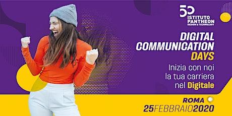 Digital Communication Days - Inizia con noi la tua carriera nel Digitale tickets