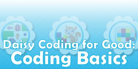Daisy Coding for Good: Coding Basics tickets