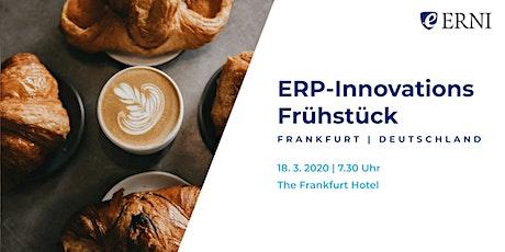 ERP-Innovations Frühstück Tickets