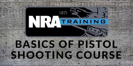 NRA Basics of Pistol Shooting (Instructor Led) tickets