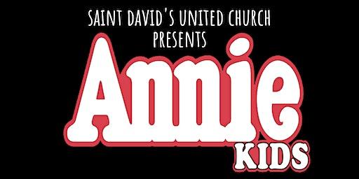 Saint David's United Church presents Annie Kids