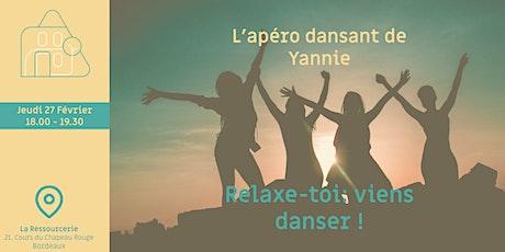L'apéro dansant de Yannie ! billets