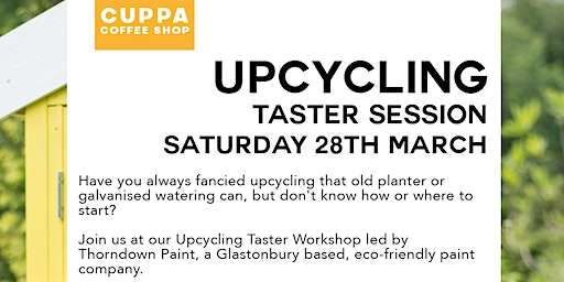 Upcycling Taster Workshop