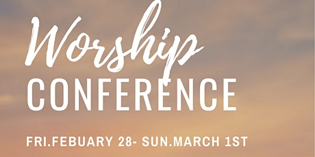 WORSHIP CONFERENCE tickets