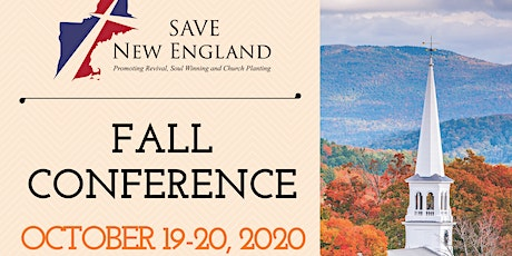2020 FALL SAVE NEW ENGLAND Church Planting Conference tickets