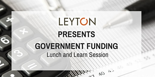"Leyton Canada presents ""SR&ED and Government Incentive Programs"""