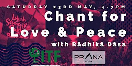 Chant for Love and Peace: Kirtan & Bhakti Wisdom tickets