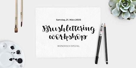 Brushlettering Workshop – Wienerisch Spezial Tickets