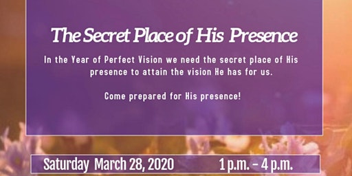 Wordspirations Gathering The Secret Place of His Presence