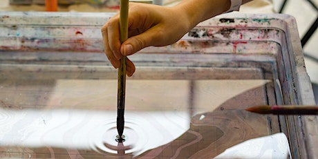 Japanese Marbling Fabric Technique-Textile Arts Center x Market Line tickets