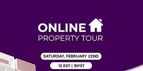 Online Property Tour! tickets