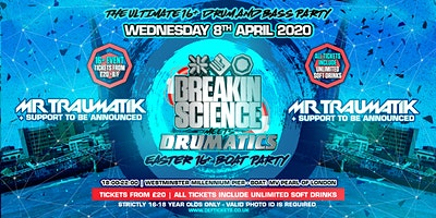 Breakin Science & Drumatics 16-18 Easter Boat Party