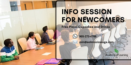 Newcomers' Information Session with Pizza & Cupcakes  – Learn while you Eat tickets