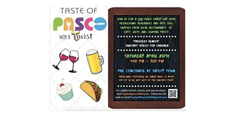 Taste of Pasco with a Twist tickets