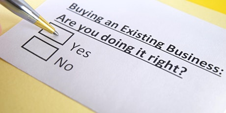 Buying an Existing Business tickets