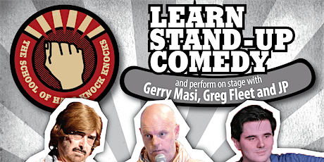 Learn stand-up comedy in Adelaide in with Greg Fleet tickets