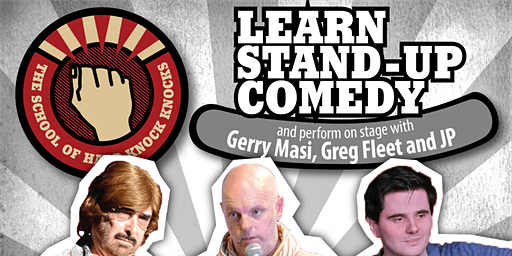 Learn stand-up comedy in Adelaide in with Greg Fleet