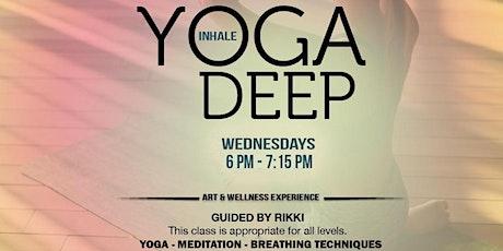 Inhale Yoga Deep tickets
