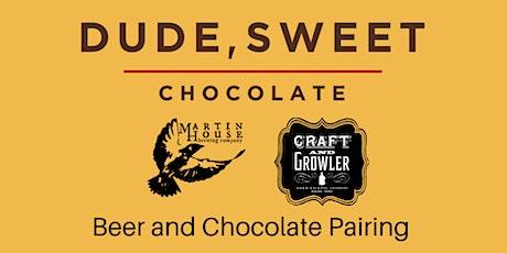 Craft Beer & Chocolate Pairing tickets