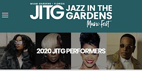 Jazz In The Gardens 2020 tickets
