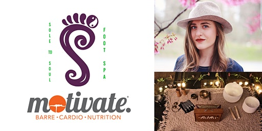 Sound Bath with Molly Rabuffo at Motivate®