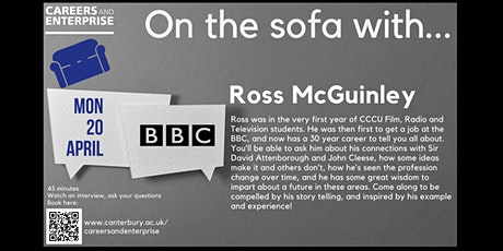 On the sofa with... Ross McGinley tickets