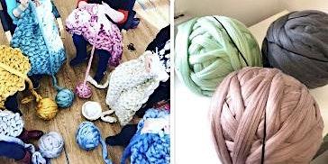 Arm Knitting at Casa Vitae
