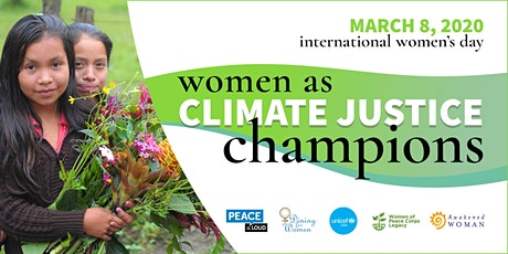 Women as Climate Justice Champions: International Women's Day 2020 tickets