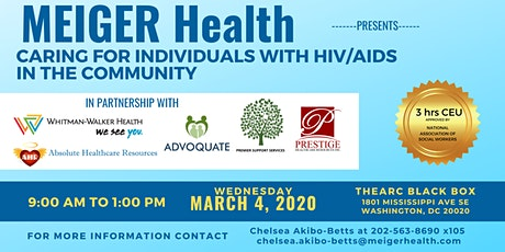 Caring for Individuals with HIV/AIDS in the Community tickets