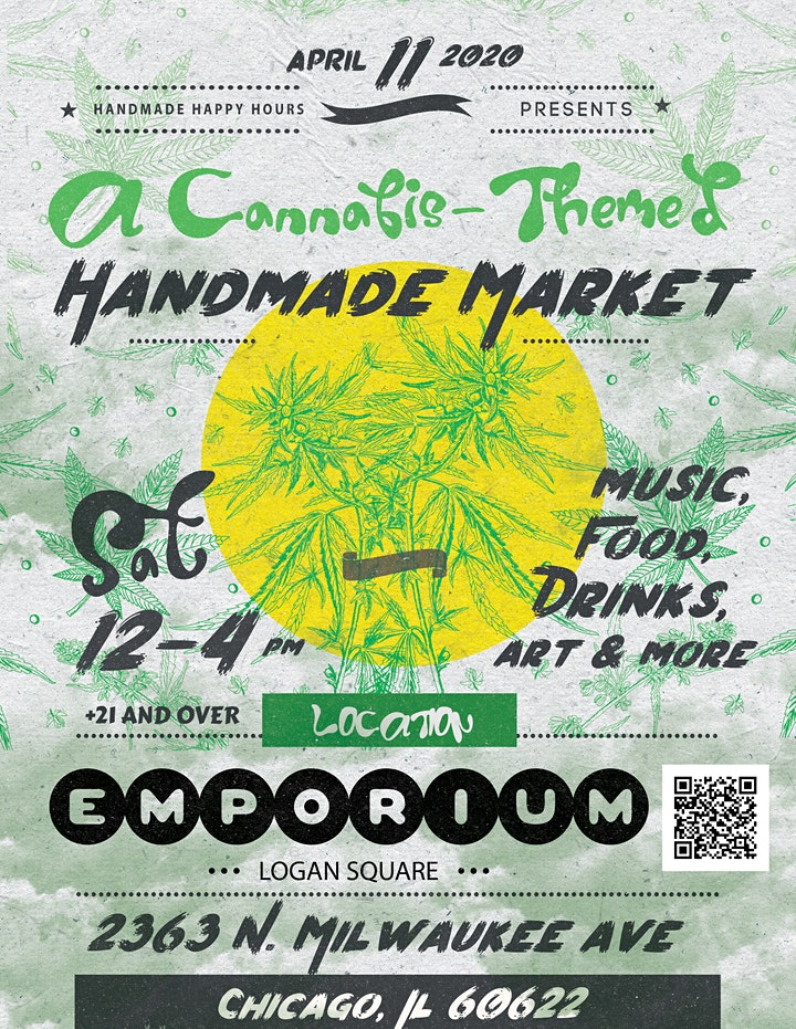 A Cannabis-Themed Handmade Market image