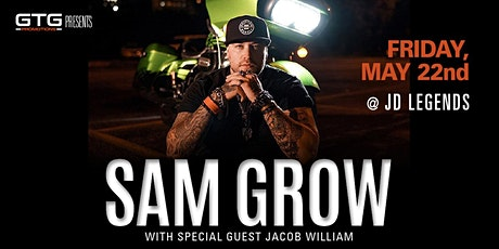 Patio Grand Opening Party with Sam Grow and Jacob William tickets