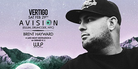 Avision ▷ Sat Feb 29th at Vertigo tickets