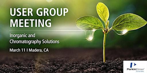 Inorganic & Chrom User Group Meeting - Madera, CA