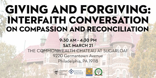 Giving and Forgiving: Interfaith Conversation