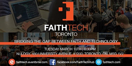 FaithTech Toronto March Meetup tickets