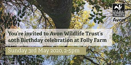 Avon Wildlife Trust's 40th Birthday Celebration tickets
