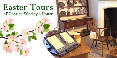 Easter Tours of Charles Wesley's House (postponed) tickets