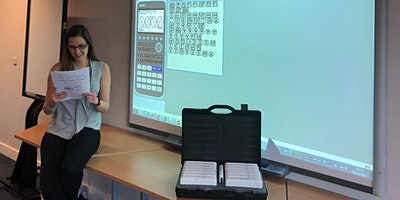 Casio fx-CG50 training: The Hertfordshire and Essex High School