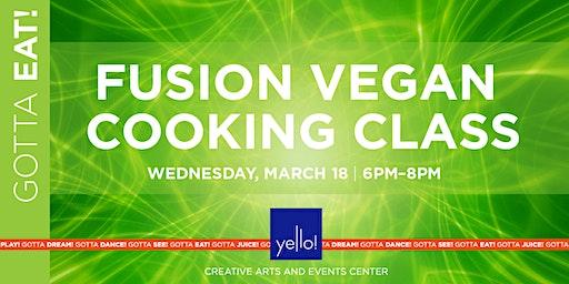 Fusion Vegan Cooking Class at Yello!