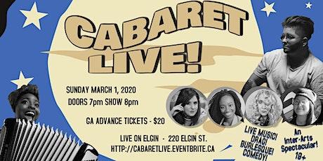 Cabaret LIVE Season Opener! tickets