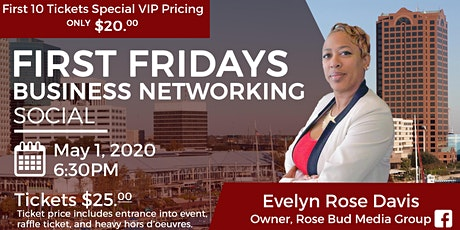 Rose Bud Media Group Presents First Fridays May 2020 Networking Event tickets