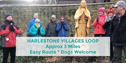 HARLESTONE VILLAGES LOOP | 3 MILES | EASY | NORTHANTS