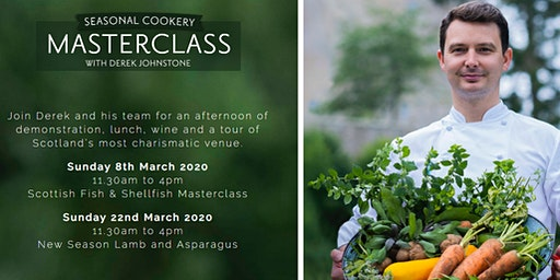 Seasonal Cookery Masterclass with Derek Johnstone