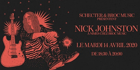 Nick Johnston chez Broc Music billets