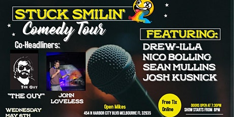 "Comedy Night with ""Stuck Smilin' Tour"" at Open Mikes tickets"