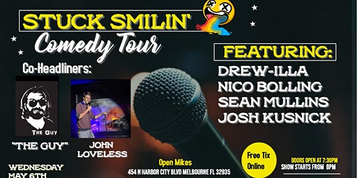 """Comedy Night with """"Stuck Smilin' Tour"""" at Open Mikes"""