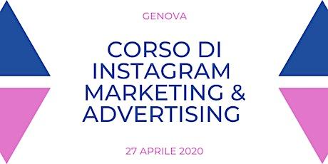 Corso di Formazione di Instagram Marketing e Advertising biglietti